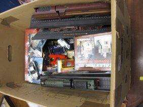 Box Of Playworn Matchbox, Corgi, Britains And Other