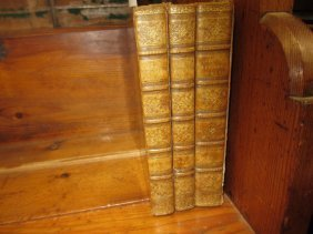 Three Volumes ' The Literary Works Of Sir Joshua