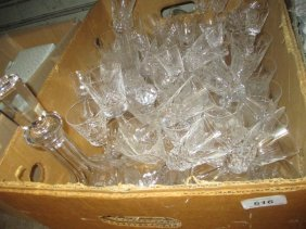 Waterford Cut Crystal Seventy Two Piece Suite Of