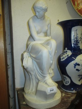 Art Union Of London Parian Figure Of ' Solitude ' After