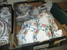 Box Containing A Quantity Of Royal Doulton Booths