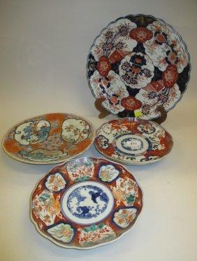 Group Of Four Various Imari Plates