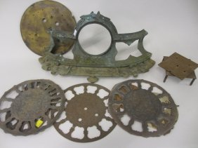 Quantity Of Miscellaneous Clock And Watch Parts, Dials