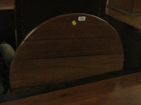 Mid 18th Century Oak Circular Pedestal Table With A