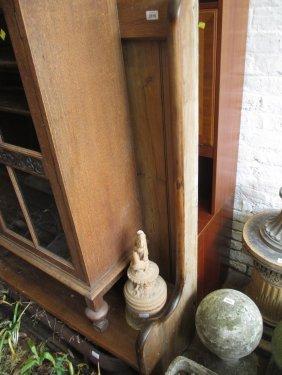 Large 19th Century Polished Pine Settle
