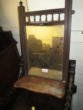 Early 20th Century Mahogany Framed Wall Mirror With