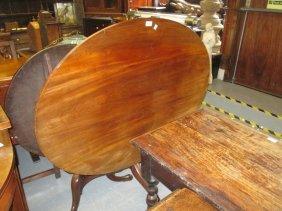 George Iii Mahogany Oval Pedestal Breakfast Table, The
