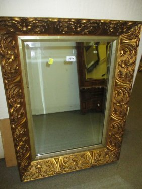 19th Century Rectangular Gilt Framed Moulded