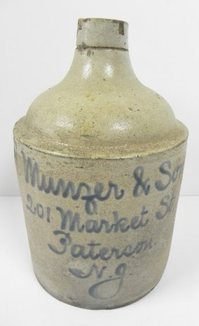 H. Munzer & Sons Script Jug