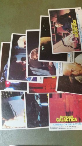 Lot Of 10 Battlestar Galactica Cards