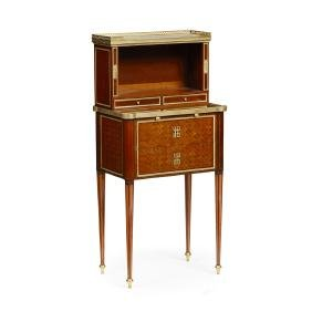 A Superb Small 19th Century French Amaranth And
