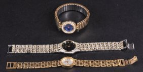 THREE LADIES WRISTWATCHES, CANTEAR, LE CHAT And