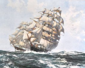 Montague Dawson (1895-1973) British. �Clipper Shi