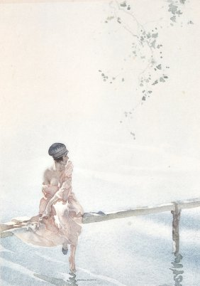 Sir William Russell Flint (1880-1969) British. �P