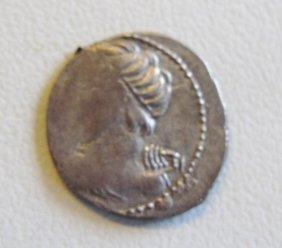 Roman Republic, Licinius L.f. Macer (84 BC) Denarius, A