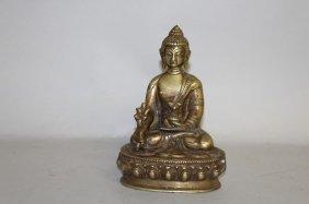 A Brass Buddha