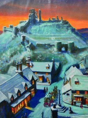 Noel Syers (20th Century) British. 'the Christmas