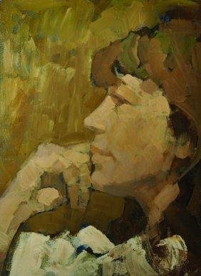 Albert Herbert (1925-2008) British. Portrait Of Nanette