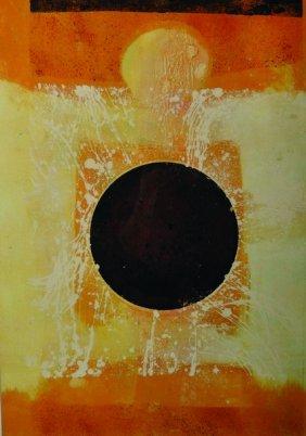 """Alison Milner-gulland (20th Century) British. """"eclipse"""
