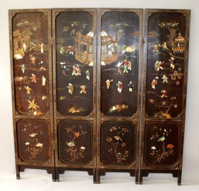 A Good Quality 19th/20th Century Chinese Onlaid