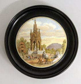 211. Albert Memorial, 4ins, Framed.
