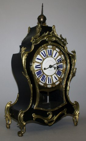 286. A Good 19th Century French Bracket Clock,