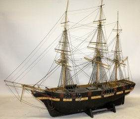 """410. A Fine Model Of Bristol Trader """"the Brother's"""""""