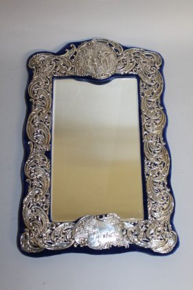 994. A Good Victorian Upright Easel Mirror With