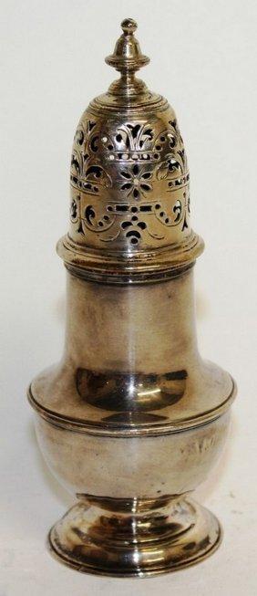 1000 A George Ii Baluster Pepperette. London 1735.