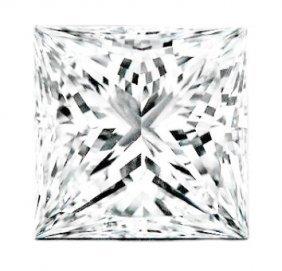 1.01 Ct Square Brilliant Diamond G-si1 Gia Cert