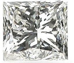 2.02 Ct Square Brilliant Diamond I-si2 Gia Cert
