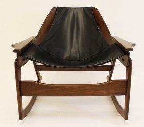 Jerry Johnson Sling Rocking Chair