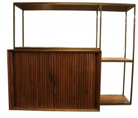 Tambour Bar Cabinet By Furnette