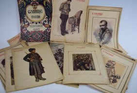 "Collection Of Russian Imperial Wwi Magazines - ""sun Of"