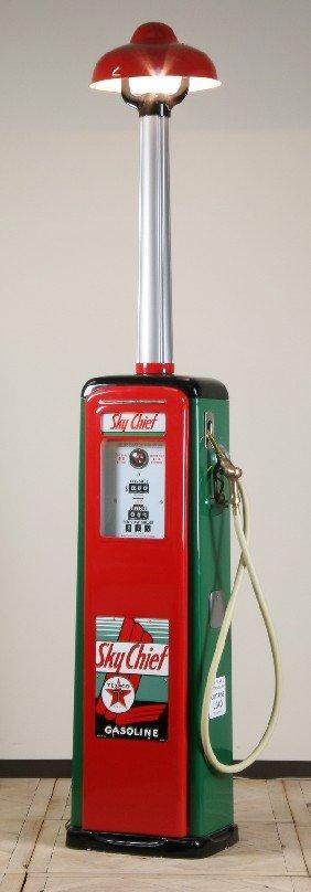 Rare Vintage Texaco Oil Company Gas Pump