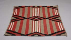Navajo Third Phase Chief's Blanket Style Rug