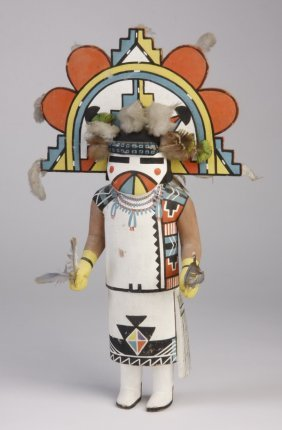 Mid 20th C. Hopi Butterfly Maiden Doll