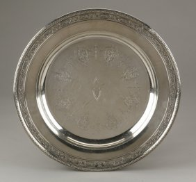 Towle Sterling Silver Tray, Marked