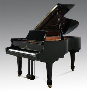 Ebonized Baby Grand Piano