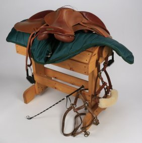 English Saddle Crafted By Zaldi W/case