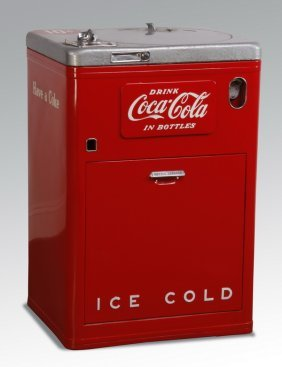 1950's Coke Machine By The Vendo Company