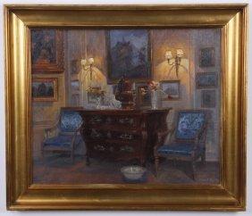 Robert Panitzch Signed O/c, C. 1932