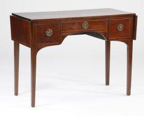 Early 20th C. Mahogany Drop Leaf Table