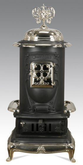 Fully Restored American Cast Iron Stove
