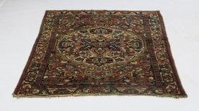 Hand Knotted Persian Sarouk Wool Carpet 5 X 7