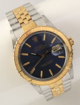 Stainless And 18kt Rolex, Thunderbird Bezel