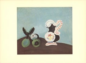 Picasso Still Life Poster