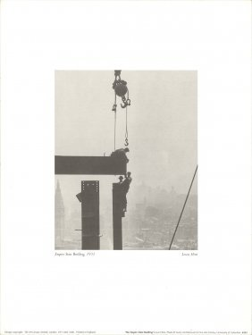 Hine The Empire State Building (1931) Poster
