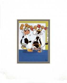 Bosse Be Cow! Poster