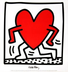 1984 Haring Untitled (1984) Poster
